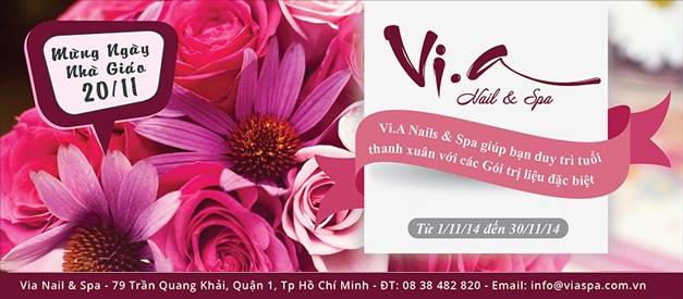 Vi.a Nail & Spa - noinao.vn